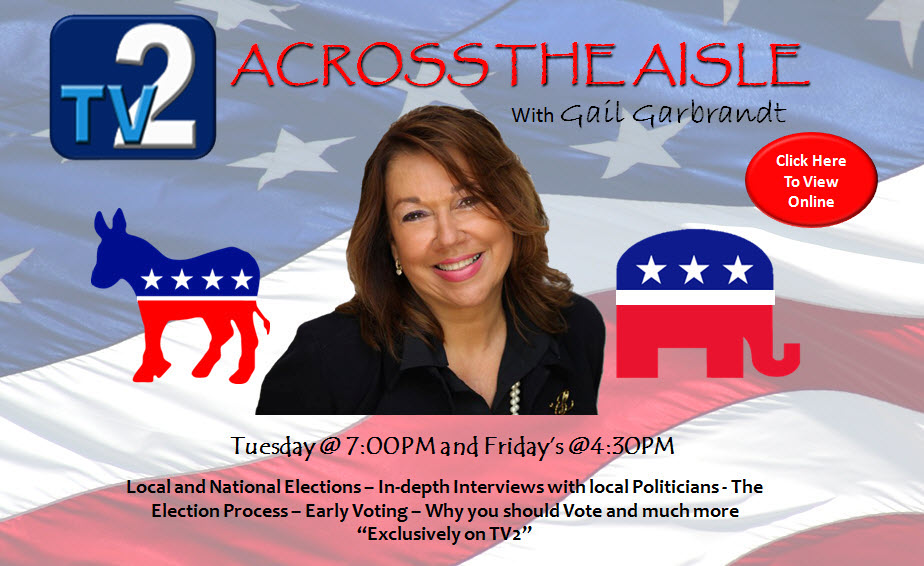 TV2 presents Across the Isle with Gail Garbrandt Tuesday @ 7:00PM and Friday's @ 4:30PM